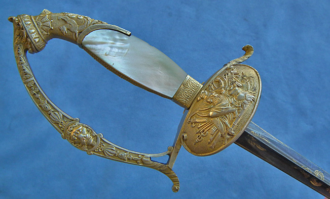 SOLD Antique French First Empire Napoleonic a d'officier superior sword Epee