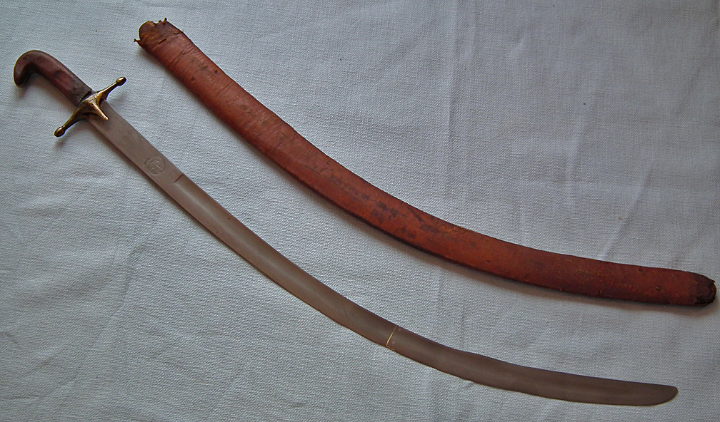 SOLD Antique Indo - Persian Islamic Arab Sword Shamshir Kilij