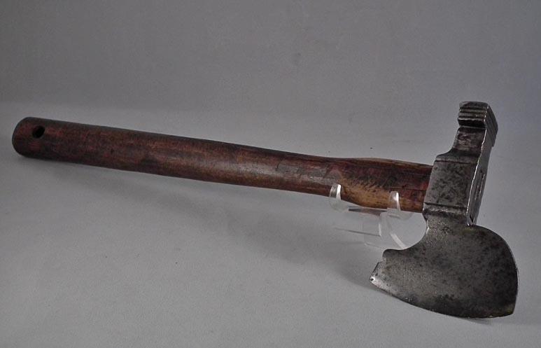 SOLD Antique 16th -17th Century European Horseman's Battle Axe