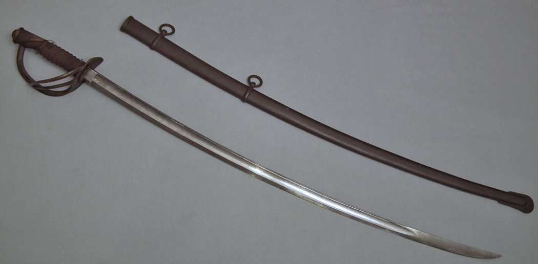 SOLD Antique American Civil War Cavalry Sword Sabre Mansfield & Lamb  dated 1864