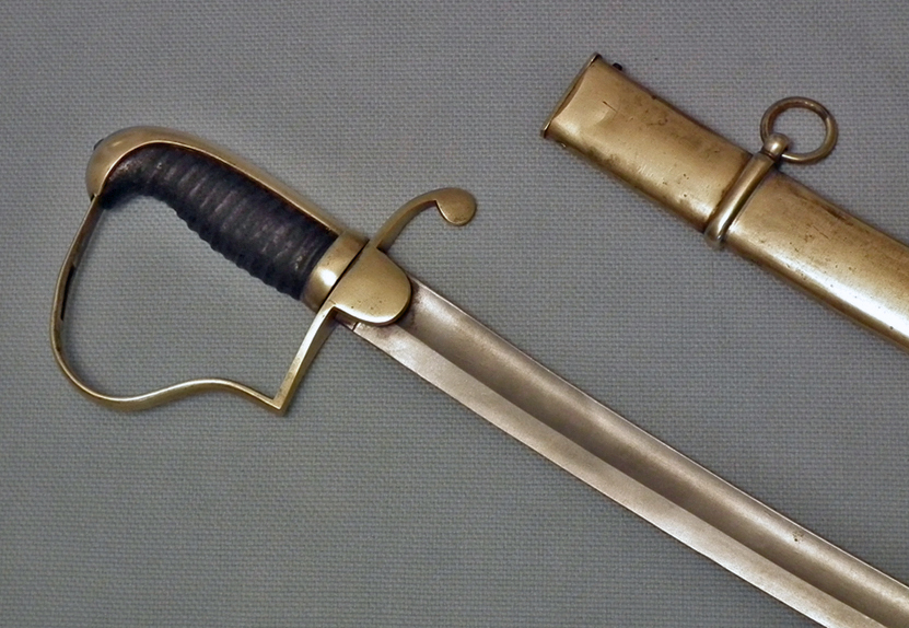 SOLD Antique American War of 1812 Light Artillery Sabre – Sword