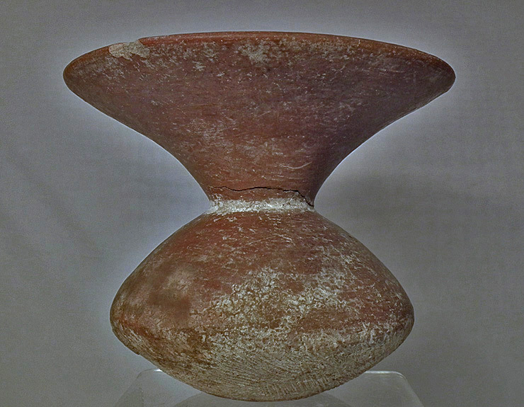 SOLD Ancient Thai Ban Chiang Culture Pottery Vessel Thailand 300 BC - AD 200