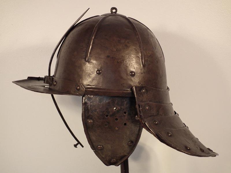 SOLD Antique Polish Winged Hussar Helmet Szyszak Zischägge 17th Century