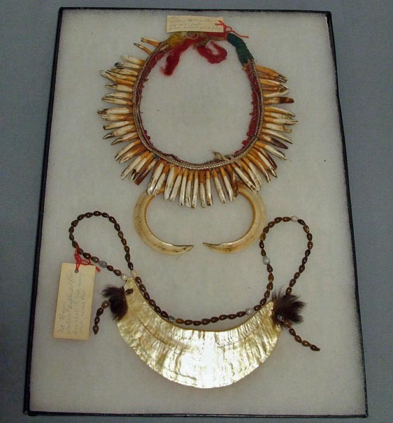 SOLD Antique Oceanic Papua New Guinea Two Necklaces