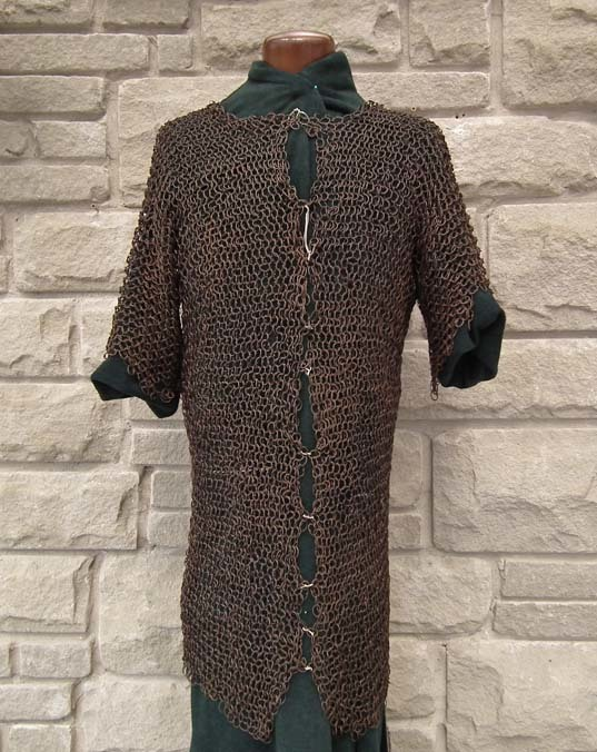 SOLD Antique Islamic 17th century Turkish Ottoman Chain Mail Armor