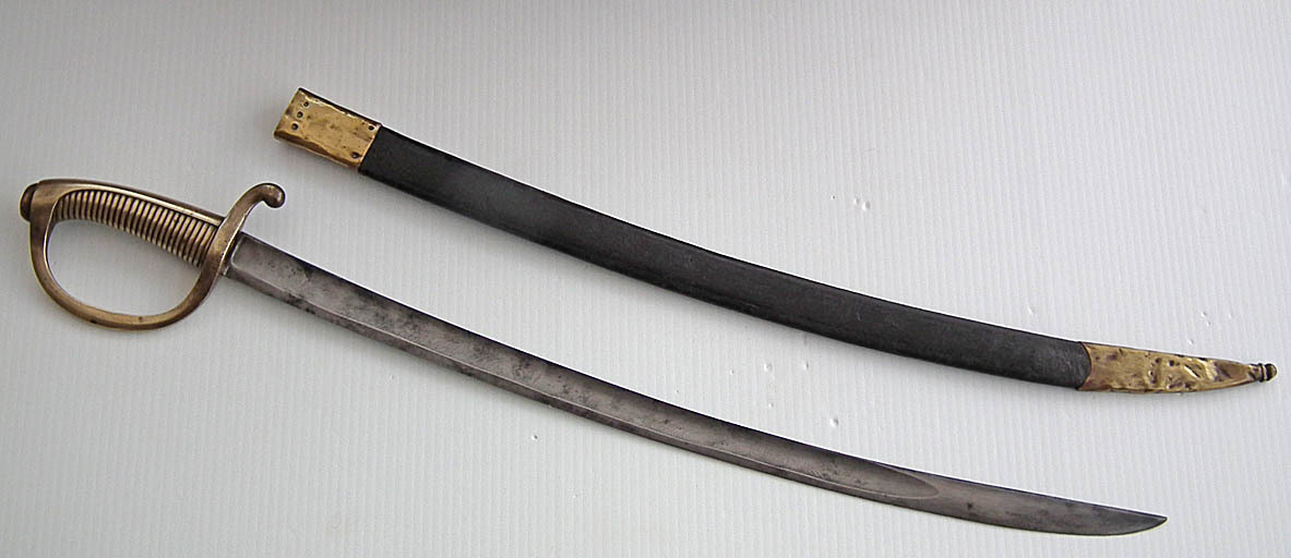 SOLD Antique 19th century An 1816 Pattern French Garde Nationale Sword Briquet