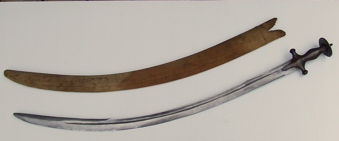 SOLD Antique 17th Century Polish Sword Blade with Indo Persian Talwar Hilt