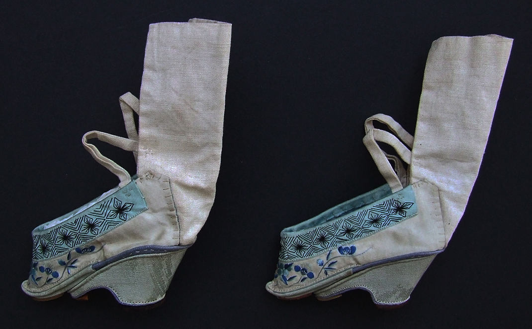 SOLD Antique Chinese Qing Dynasty Lotus Shoes