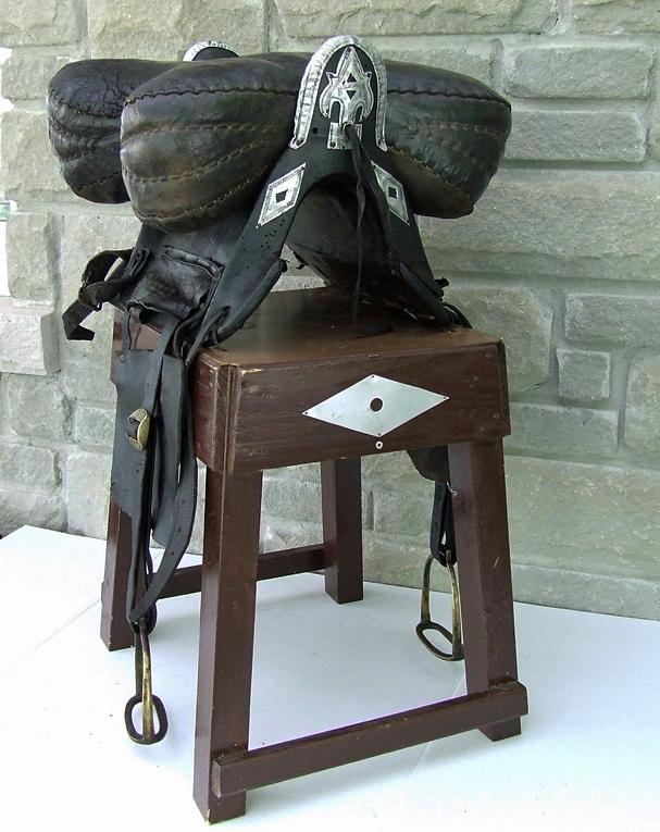 SOLD Antique Islamic Caucasian Circassian Russian Cossacks Saddle