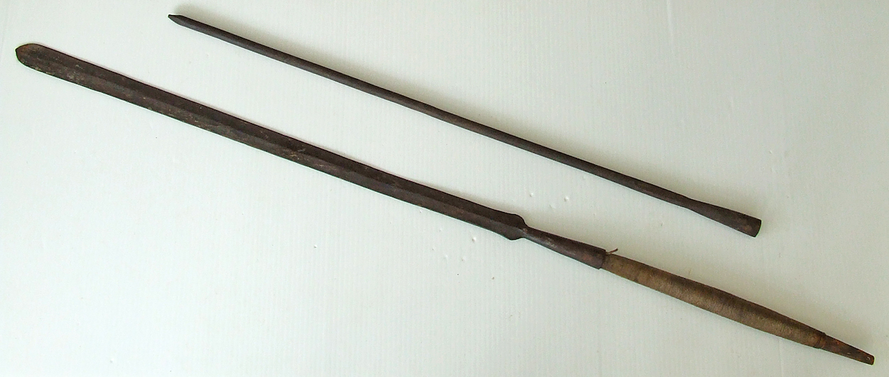 SOLD Antique Late 19th-Early 20th centuries African Maasai Masai War / Hunting Spear