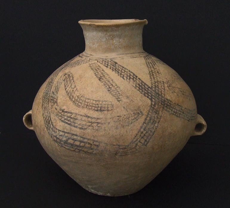 SOLD Rare Ancient Chinese Neolithic Yangshao Culture Pottery Amphora/Jar Circa 3000 B.C.