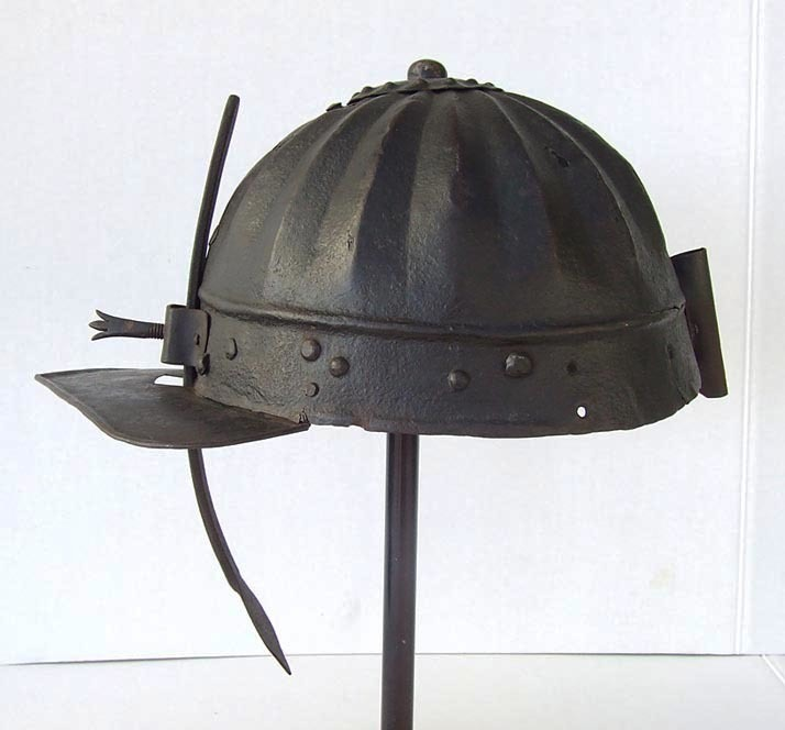 SOLD  Antique late 16/ Early 17th century Polish Or Hungarian Hussar's Helmet Szyszak