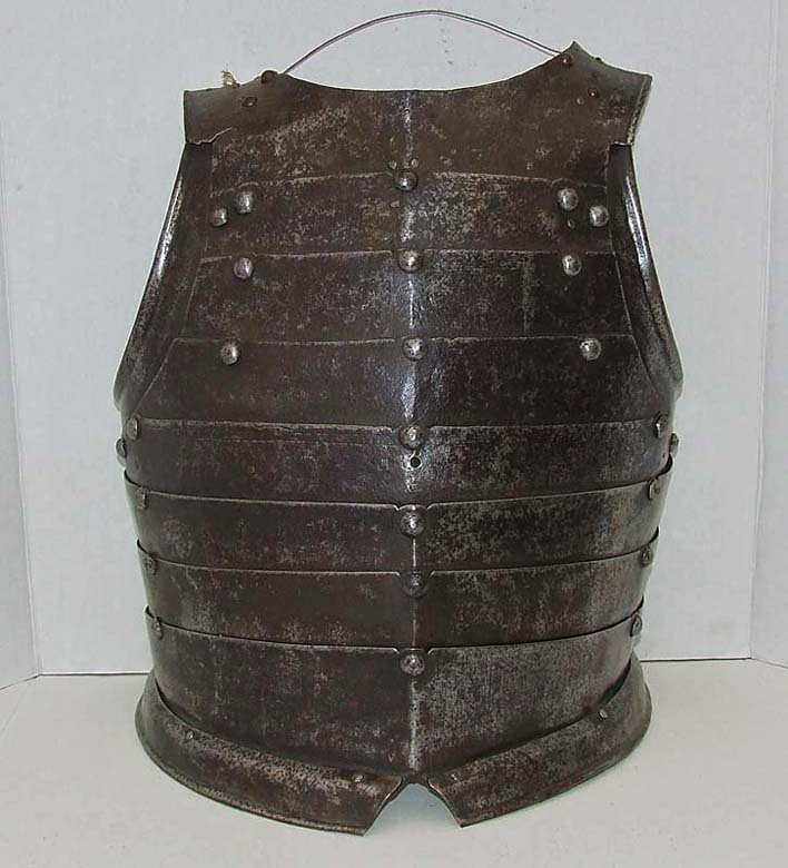 SOLD Antique late 16/ 17th century Polish Hussar Breastplate Armor