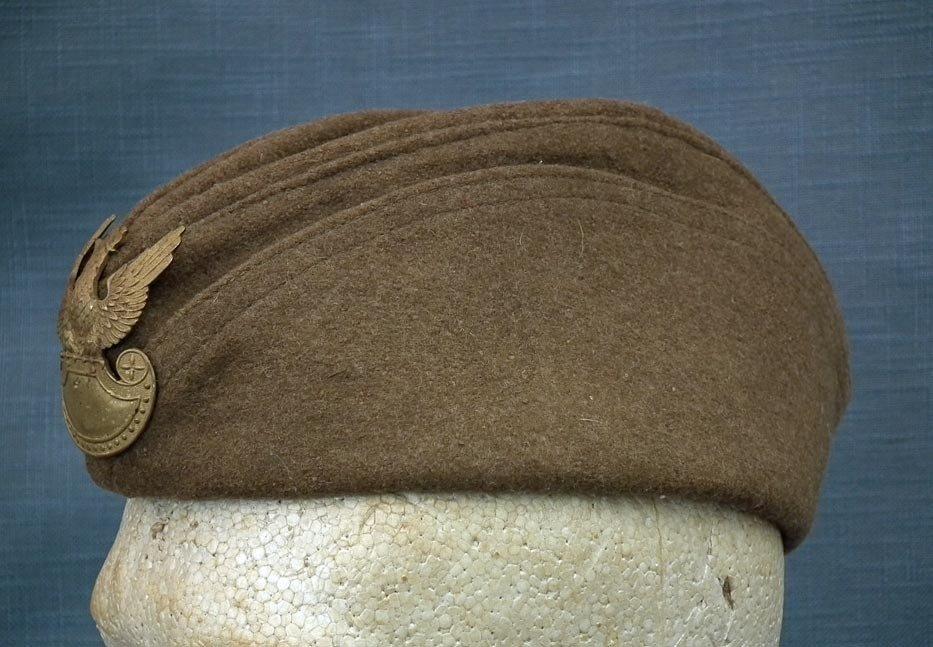 SOLD Antique Polish Wz.23 Military Hat Furazerka Sidecap Forage Cap