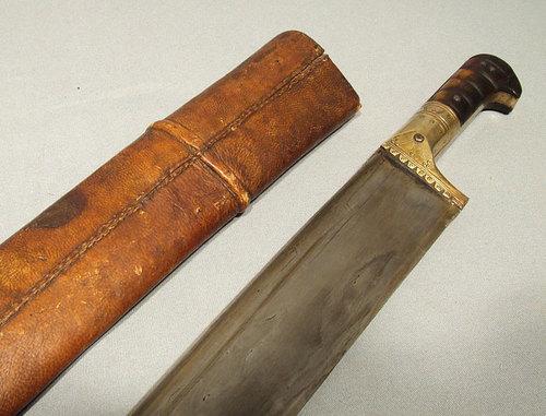 SOLD Antique Indo Persian Sword  Islamic Salawar Yatagan