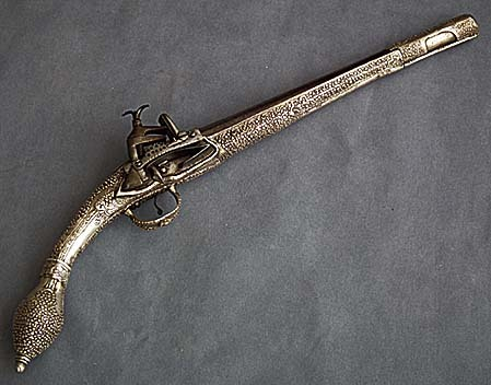 SOLD Antique Ottoman Balkan Pistol 18th century