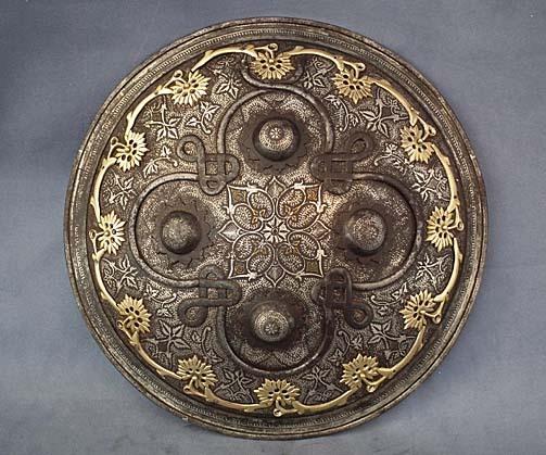 SOLD Antique 18th century Islamic Indo-Persian Shield Dhal- Separ