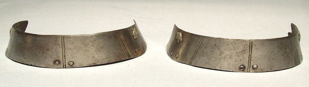 SOLD Antique 16th century 2  Armour Lames