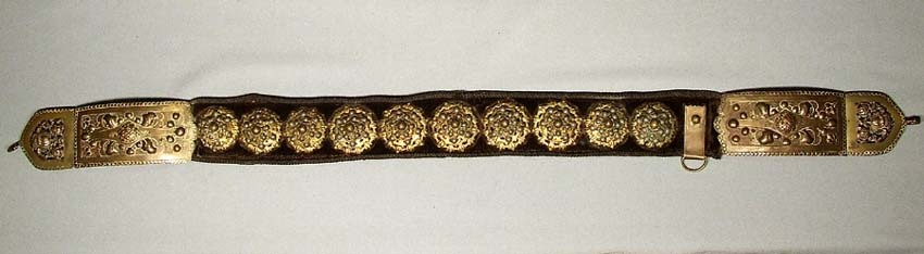 SOLD Antique 17th century Sword Belt, Hungarian Polish