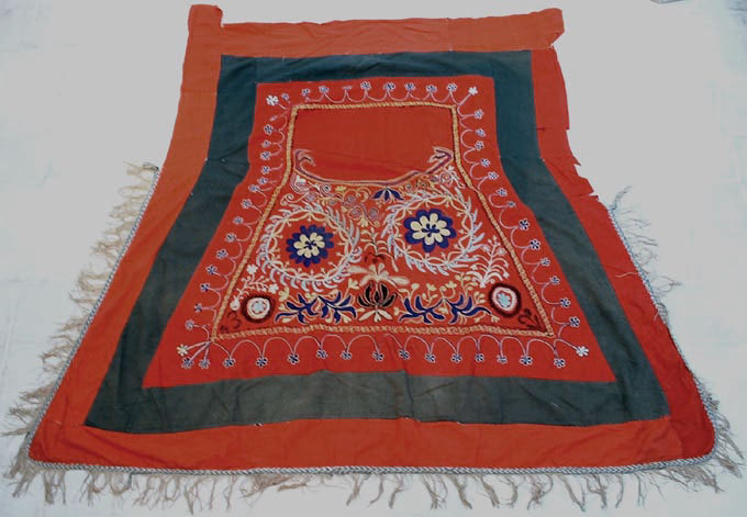 SOLD Antique Islamic Horse Saddle Cover 19th c