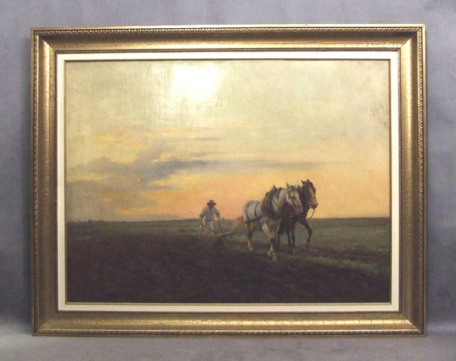 antique ukrainian painting pstrak yaroslav