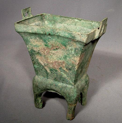 SOLD Antique Chinese Bronze Chou Dynasty Censer