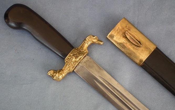 SOLD  Antique 19th century European Hunting Sword