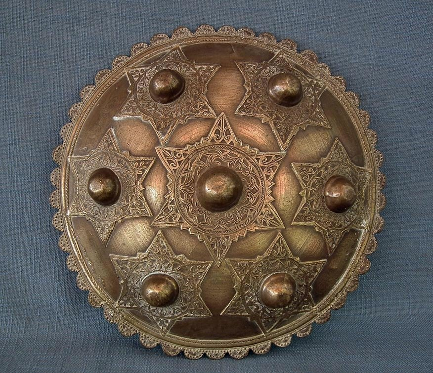 SOLD Antique Islamic Indonesian Shield Peurise Teumaga Muslim Sultanate Aceh-Atjeh