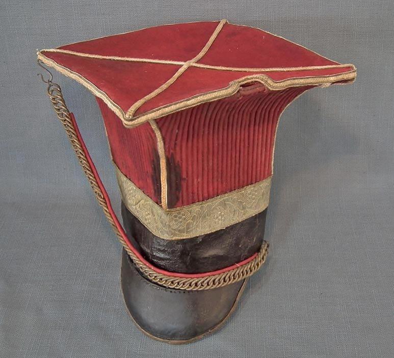 SOLD Antique Napoleonic Helmet Schapska Czapka 1st Polish Lancers Regiment Of The Imperial Guard