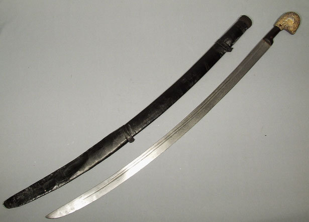SOLD Antique Imperial Russian Sword Shashka 19th century
