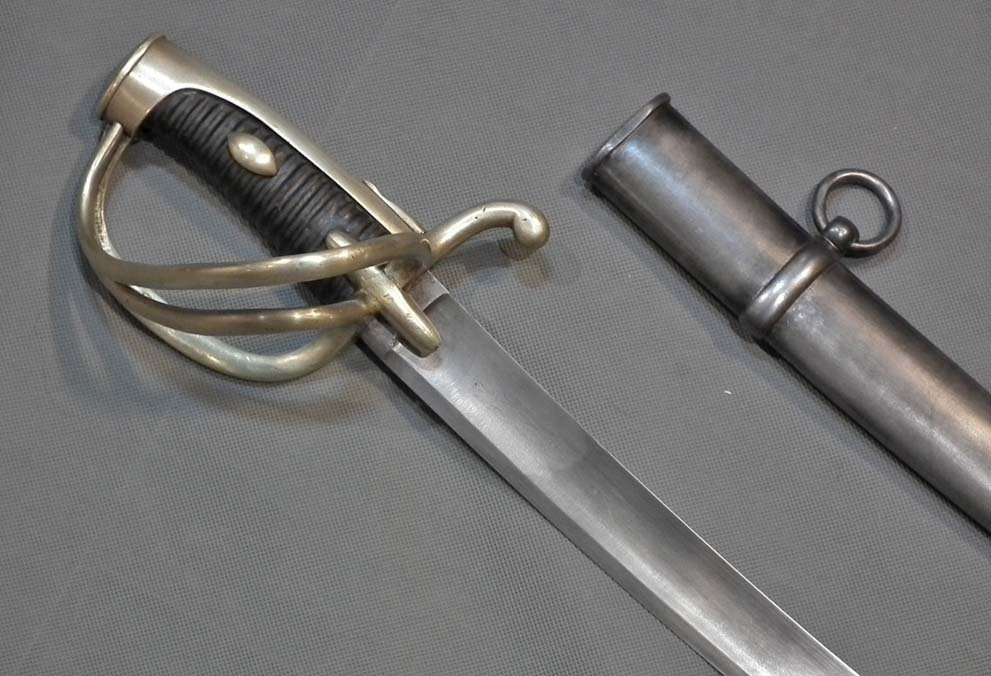 SOLD Antique French Light Cavalry Sabre Sword Napoleonic Model AN XI