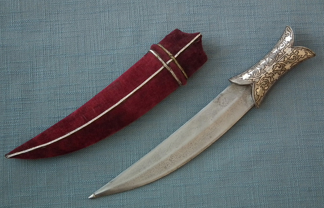 SOLD Antique Islamic Indo Persian Indian Moghul Dagger Jambiya 18th - 19th century India