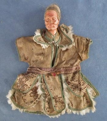 SOLD Antique 19th century Chinese Qing Dynasty Puppet