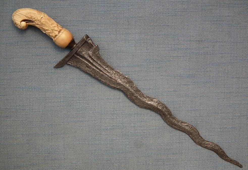 SOLD Antique Islamic Indonesian-Java Kris Keris Sword Dagger Madura Donoriko