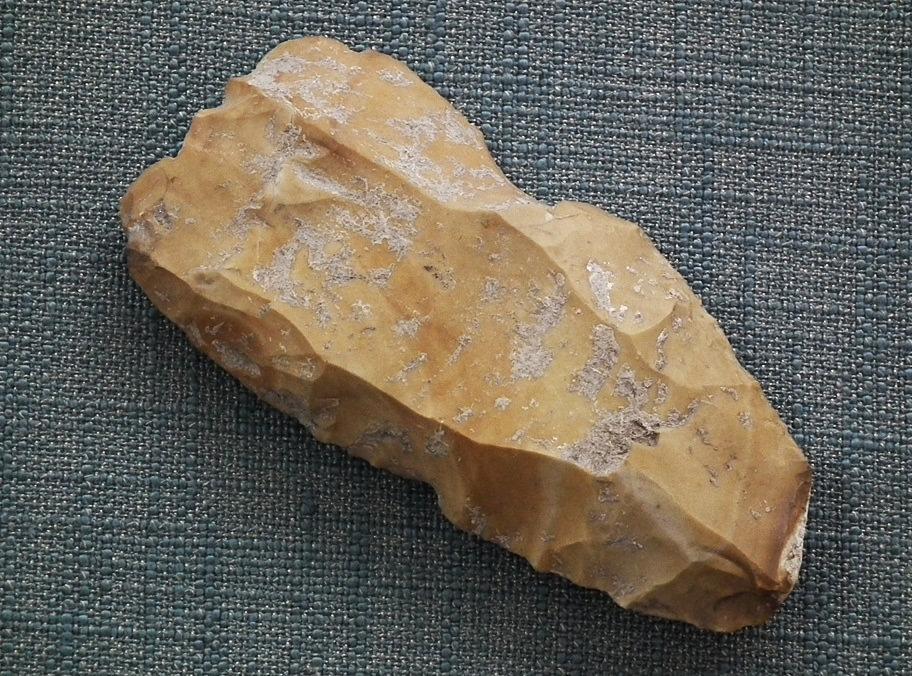 SOLD Prehistoric Paleolithic Mousterian Axe- Celt 90,000–35,000 B.C.