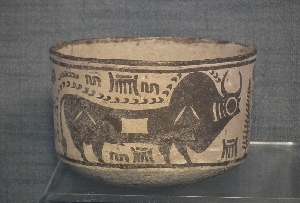 SOLD Ancient Indus Valley Harappan Civilization Terracotta Cup Bronze Age 3300 - 2000 B.C.