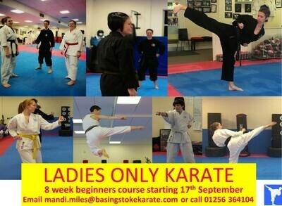 Ladies Only Karate