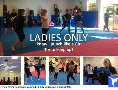 Ladies Only Kickboxing
