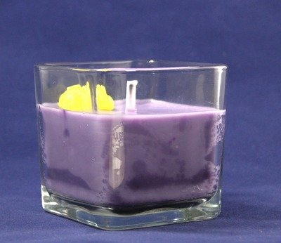 Love's Domain Scented Wax Candle In Square Glass