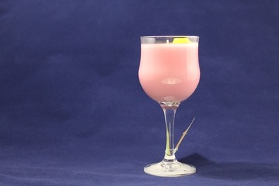 Summer's Love Scented Wax Candle In Water Goblet