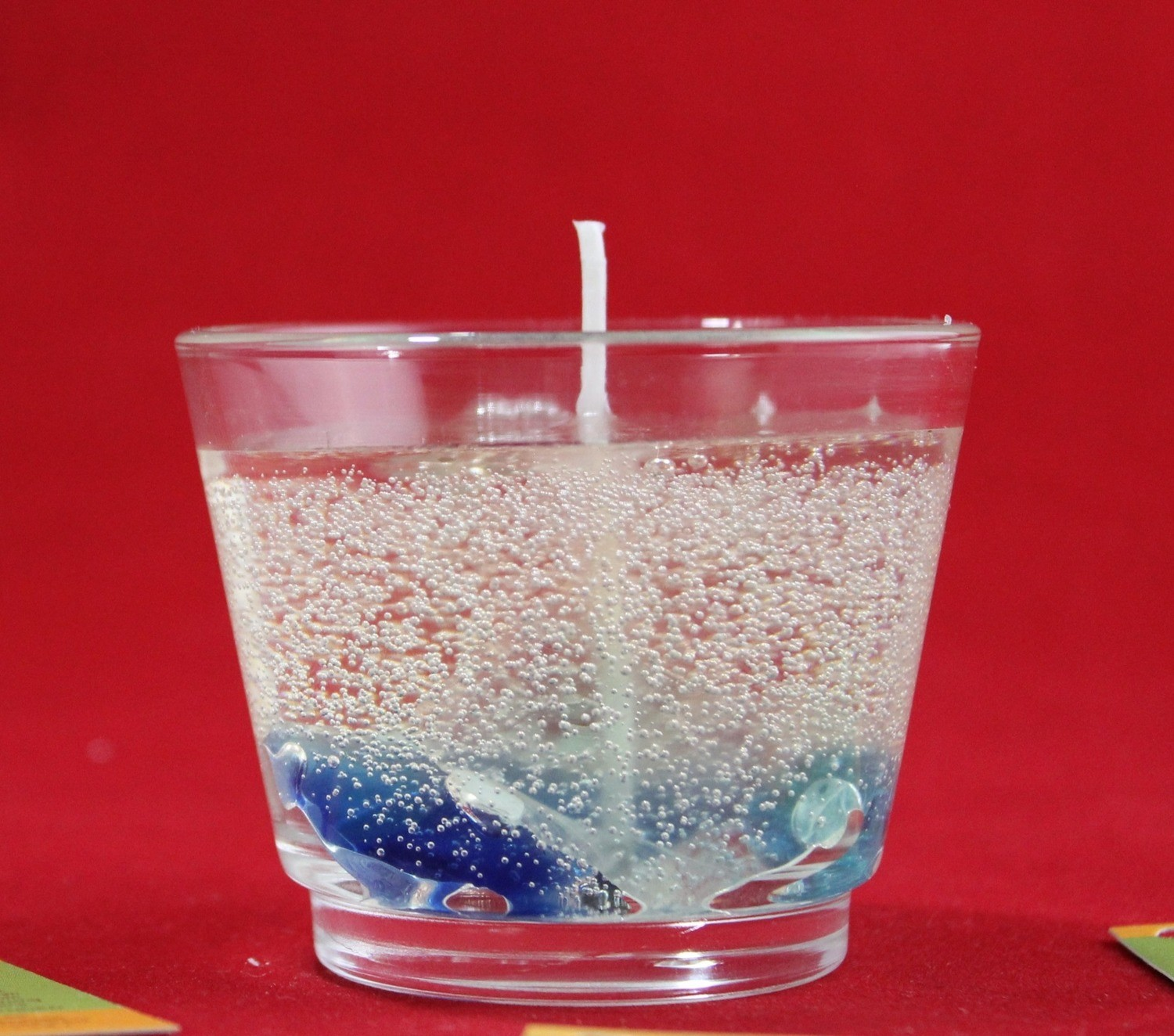 I Votives Scented Gel Candle In Votive Glass with Marble Embeds