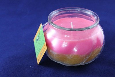 Bodacious & Sweet Diamond Passion Scented Wax Candle In Taurine Glass