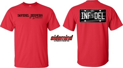 IJ DE - Red with Black Tag
