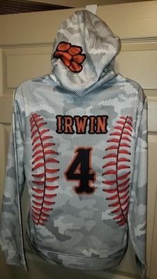 Softball Sport-Tek® Sport-Wick® CamoHex Fleece Hooded Pullover