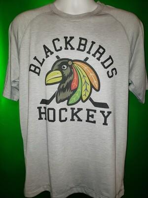 Blackbird Sport-Tek® PosiCharge® Tri-Blend Wicking Raglan Tee