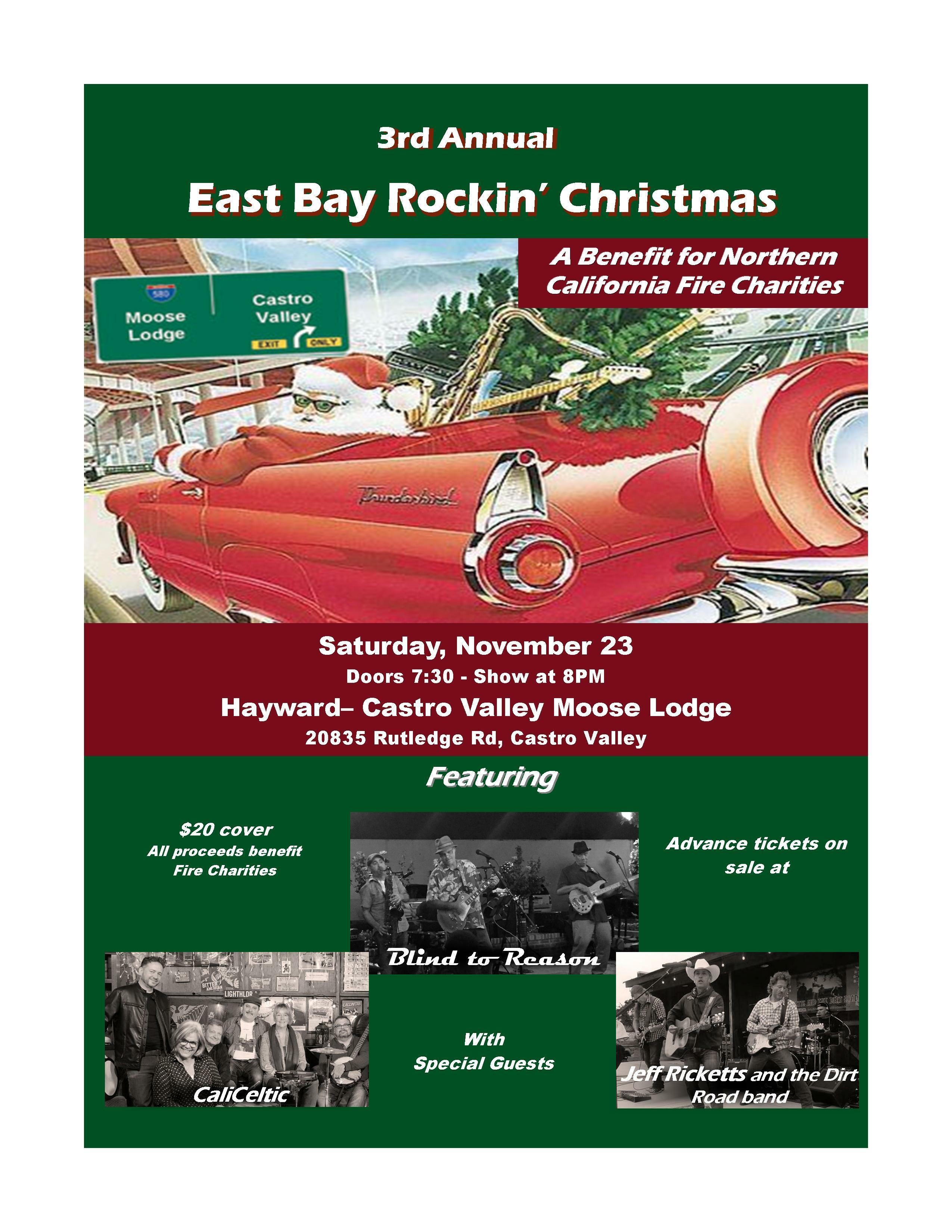 East Bay Rockin' Christmas 2019 Advance Ticket 00002