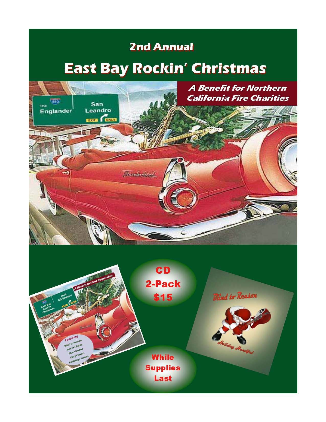 East Bay Rockin Christmas 2018 CD 2-Pack 00001