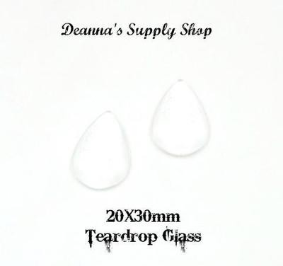 20x30MM Teardrop Glass