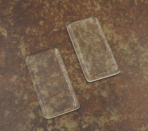 25x50MM Rectangle Glass 00016