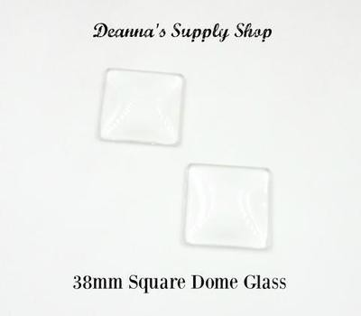 35MM Square Dome Glass